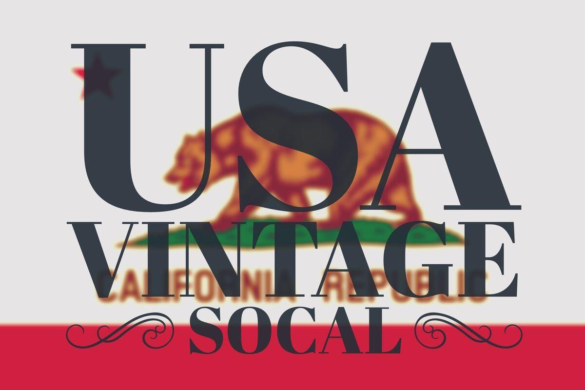 USA Vintage SoCal