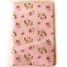 Patch Tissu Rose Liberty Laie 150cm Patchwork Confection Vêtement Sac Robe Jupe