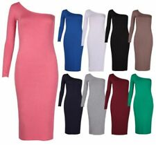 Jersey Long Sleeve Stretch Dresses for Women