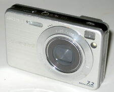 Sony Cyber-shot DSC-W120 7.2 MP Digital Camera - Silver