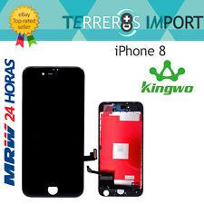"Kingwo Pantalla Completa PREMIUM LCD iPhone 8 4.7"" Negro Display Negra"