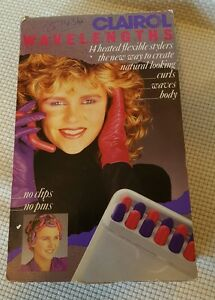 Clairol Wavelengths 14 Flexible Stylers FS1 1985