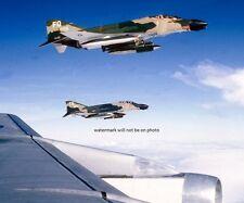 "Air Force McDonnell F-4D Phantom II Jets in flight  8""x 10"" Vietnam Photo 130"