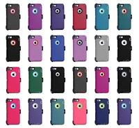 iPhone 7 & 8 Plus Case   Defender Shockproof Cover w/ Built-in Screen Protector