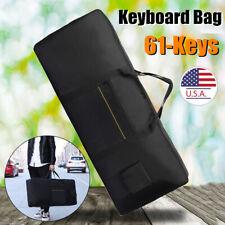 Waterproof Professional 61 Keys Keyboard Bag Portable Thicken Cover Case Storage