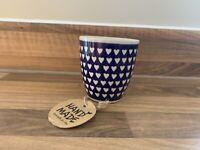 Little mug Handmade Polish pottery Boleslawiec