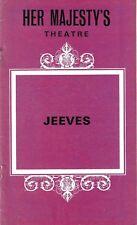 "Andrew Lloyd Webber ""JEEVES"" David Hemmings / Alan Ayckbourn 1975 London FLOP"