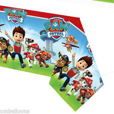 PAW PATROL PLASTIC TABLECOVER BIRTHDAY PARTY SUPPLIES TABLECLOTH
