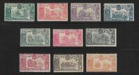ESPAÑA. Edifil nsº 257/66 nuevos y 3 sellos defectuosos