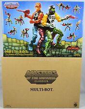 Masters of the Universe Classics MULTI-BOT MOC NEW!! HTF!!