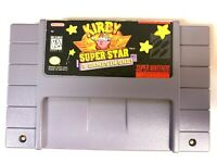 Kirby Super Star - Rare SNES Super Nintendo Game - Tested, Working & Authentic!