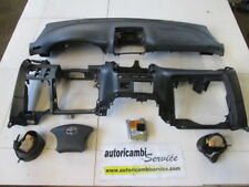 TOYOTA AVENSIS VERSO 2.0 D 5P 5M 85KW (2004) RICAMBIO KIT AIRBAG COMPLETO DI CRU