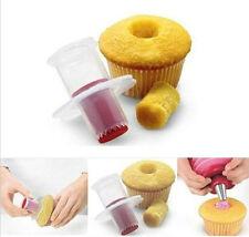 Baking Cake Corer Pastry Decorating Divider Filler Plunger Cutter Tool new