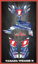 Yamaha 09-13 YFZ 450R 450X EFI ATV DECALS SEMI CUSTOM GRAPHICS KIT PRIMAL
