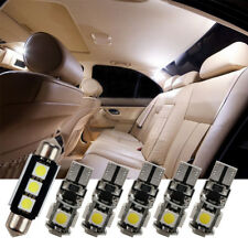 White Interior LED SMD Light Bulb Kit For VW Golf 5 6 7 Passat 3C B6 B7 CC Jetta