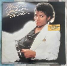 MICHAEL JACKSON THRILLER HOLLAND PRESS LP EPIC 1982