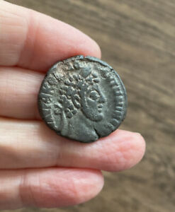 ROMAN. COMMODUS (177-192 A.D). BILLON TETRADRACHM OF ALEXANDRIA. EGYPT.