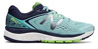 New Balance Women's 860v8 Shoes Blue with Navy & Green