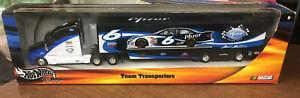 Hot Wheels Mark Martin #6 Tractor Trailer Team Transporters NASCAR B0992 MIB