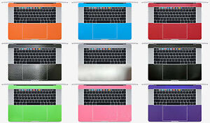 2-pack Palm Rest Vinyl Sticker Protector for Macbook Pro 15.4'' A1707 A1990