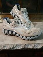 Reebok Zigtech Ziglite Zignano Mens Size 10.5 Gray Suede Running Training Shoes