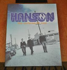 BRAND NEW Hanson Underneath 2004 Tour Book!