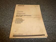 Caterpillar Cat D3C & LGP Tractor Crawler Powershift Part Catalog Manual