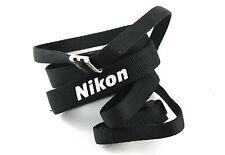 NIKON Branded Black Standard Strap.