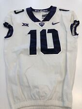 Game Worn Used Nike TCU Horned Frogs Football Jersey Size 40 #10