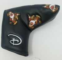 WALT DISNEY WORLD GOLF BLADE PUTTER HEADCOVER - Grumpy Magnetic Cover New Black