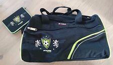 4YOU Sporttasche und Mäppchen, Soccer-Motiv, schwarz, NEU