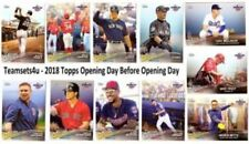 Carte collezionabili baseball stagione 2018