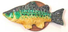 1:12 Scale Single Polymer Clay Fish For Dolls House Kitchen Shop Accessories K