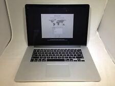 MacBook Pro 15 Retina Mid 2012 MC975LL/A 2.3GHz i7 16GB 256GB Very Good READ