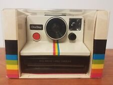 New Vintage Polaroid One Step Rainbow Stripe SX-70 Instant Land Camera