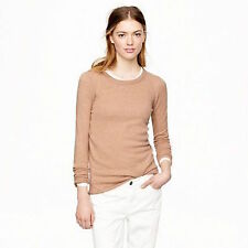 J.Crew 100% Cashmere sweater tee beige Womens size XS  Worn once
