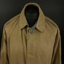 Trussardi Mens Vintage Shirt / Light Jacket LARGE Long Sleeve Grey Classic Fit