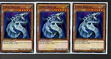 Link Strike Mint 3 X Cyber Drache YS17-DE008 Common Playset