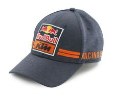 KTM Red Bull Gorra Visera curva de equipo Azul Naranja Sombrero Nuevo