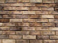 Brick Roma Polyurethane Molds for Concrete Plaster wall stone Form Gypsum Tiles