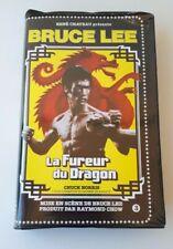 """TRES RARE K7 VIDEO VHS BRUCE LEE """"LA FUREUR DU DRAGON """"EDITION 1981 René CHATEAU"""