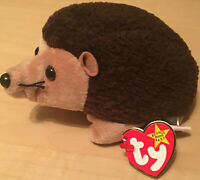Ty Beanie Babies 1998 Prickles the Hedgehog With Tags and Error