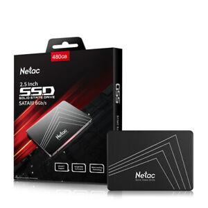 Netac 480GB SSD 2.5'' SATA3.0 III Internal Solid State Drive 500MB/S PC/MAC