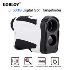 BOBLOV Monocular Rangefinder 600M Flag Locking Meter Speed Measurer Rechargrable
