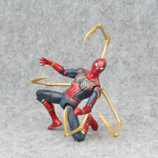 Avengers 3 Infinity War Iron Spiderman w/ Golden Claws and Light Action Figure