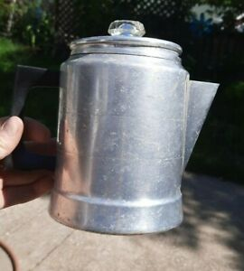 Vintage Aluminum COMET   7 Cup   Percolator   Coffee Pot   USA