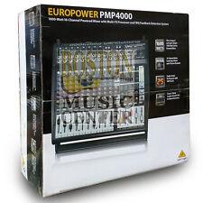 Behringer PMP4000 16-Channel 1,600 Watt Powered Mixer Multi Effects Church Mixer