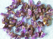 1 STRING OF AMETHYST STONE CHIPS 15mm - 20mm Stone 003