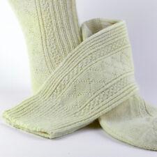 2 PAIRS %100 LAMBSWOOL SOCKS THICK UNISEX PURE KNITTED WOOL WOOLLEN WINTER SOCKS