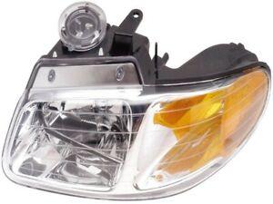 For 1996-1999 Chrysler Voyager 591E125254 Headlight Assembly by Dorman